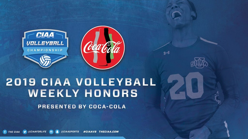 CIAA Announces Volleyball Weekly Honors #9